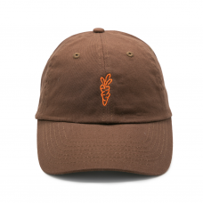 <img class='new_mark_img1' src='https://img.shop-pro.jp/img/new/icons5.gif' style='border:none;display:inline;margin:0px;padding:0px;width:auto;' />SIGNATURE CARROT DAD HAT - BROWN