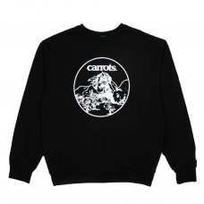 <img class='new_mark_img1' src='https://img.shop-pro.jp/img/new/icons5.gif' style='border:none;display:inline;margin:0px;padding:0px;width:auto;' />FRIENDS CREWNECK - BLACK