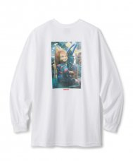 <img class='new_mark_img1' src='https://img.shop-pro.jp/img/new/icons5.gif' style='border:none;display:inline;margin:0px;padding:0px;width:auto;' />FTC x CHUCKY CONVEYOR L/S TEE - WHITE