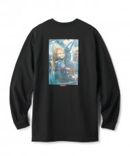 <img class='new_mark_img1' src='https://img.shop-pro.jp/img/new/icons5.gif' style='border:none;display:inline;margin:0px;padding:0px;width:auto;' />FTC x CHUCKY CONVEYOR L/S TEE - BLACK