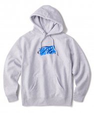 <img class='new_mark_img1' src='https://img.shop-pro.jp/img/new/icons5.gif' style='border:none;display:inline;margin:0px;padding:0px;width:auto;' />FTC x BUTTER GOODS STACK LOGO PULLOVER HOODY - GRAY
