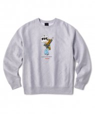 <img class='new_mark_img1' src='https://img.shop-pro.jp/img/new/icons5.gif' style='border:none;display:inline;margin:0px;padding:0px;width:auto;' />FTC x BUTTER GOODS HIPPIE CREWNECK SWEATSHIRT - GRAY