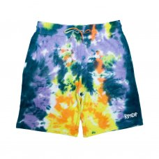 PEEK A NERMAL SWEAT SHORTS - MULTI TIE DYE