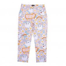 DAISY DAZE TWILL PANTS - MULTI