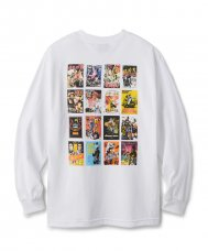 KANG FU ACTION THEATRE L/S TEE - WHITE