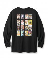KANG FU ACTION THEATRE L/S TEE - BLACK
