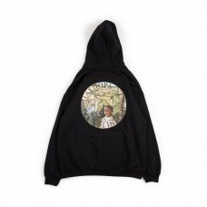 VUE MAGIC CIRCLE HOODED SWEATSHIRT (BLACK)