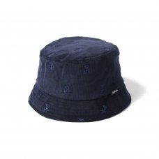 ALLOVER FLAME LOGO HAT - NAVY