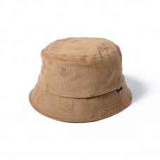 ALLOVER FLAME LOGO HAT - BEIGE