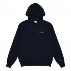 CHILL WAVE HOODIE - NAVY
