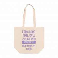 GOOD TIME TOTE BAG - CANVAS