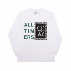 ETCHING SKETCHY L/S TEE - WHITE