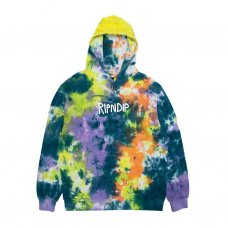 <img class='new_mark_img1' src='https://img.shop-pro.jp/img/new/icons5.gif' style='border:none;display:inline;margin:0px;padding:0px;width:auto;' />RUBBER LOGO HOODIE - TIE DYE