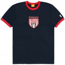 CARROTS SHIELD RINGER TEE - NAVY