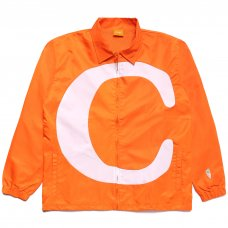 C NYLON TRACK JACKET - ORANGE