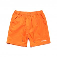 SERVADIO WORDMARK NYLON SHORTS - ORANGE