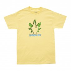 <img class='new_mark_img1' src='https://img.shop-pro.jp/img/new/icons5.gif' style='border:none;display:inline;margin:0px;padding:0px;width:auto;' />(BRONZE56K) WEED FINGER TEE - BANANA
