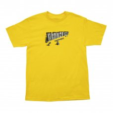 <img class='new_mark_img1' src='https://img.shop-pro.jp/img/new/icons5.gif' style='border:none;display:inline;margin:0px;padding:0px;width:auto;' />(BRONZE56K) CHISEL TEE - YELLOW