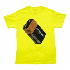 (BRONZE56K) BATTERY TEE - SAFETY GREEN