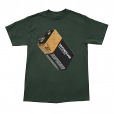 <img class='new_mark_img1' src='https://img.shop-pro.jp/img/new/icons47.gif' style='border:none;display:inline;margin:0px;padding:0px;width:auto;' />(BRONZE56K) BATTERY TEE - FOREST GREEN
