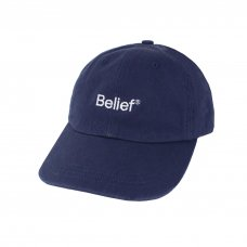 <img class='new_mark_img1' src='https://img.shop-pro.jp/img/new/icons5.gif' style='border:none;display:inline;margin:0px;padding:0px;width:auto;' />(Belief NYC) LOGO 6-PANEL - NAVY