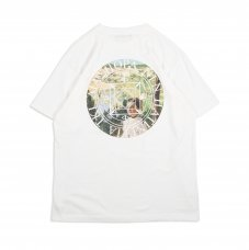 (Diaspora Skateboards) VUE MAGIC CIRCLE TEE - WHITE