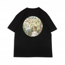 (Diaspora Skateboards) VUE MAGIC CIRCLE TEE - BLACK