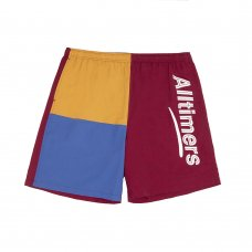 (Alltimers) PART 3 SHORTS - BURGUNDY