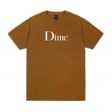 <img class='new_mark_img1' src='https://img.shop-pro.jp/img/new/icons5.gif' style='border:none;display:inline;margin:0px;padding:0px;width:auto;' />(Dime MTL) DIME CLASSIC LOGO T-SHIRT - COFFEE