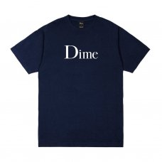 <img class='new_mark_img1' src='https://img.shop-pro.jp/img/new/icons5.gif' style='border:none;display:inline;margin:0px;padding:0px;width:auto;' />(Dime MTL) DIME CLASSIC LOGO T-SHIRT - NAVY