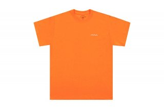 (The Good Company) CHILL WAVE TEE - ORANGE / WHITE