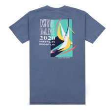 <img class='new_mark_img1' src='https://img.shop-pro.jp/img/new/icons5.gif' style='border:none;display:inline;margin:0px;padding:0px;width:auto;' />(Belief NYC) RIVER RACE TEE - BLUE JEAN