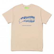 (Mister Green) FRIENDLY WAVE TEE - CAMEL