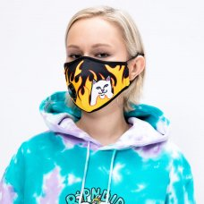 <img class='new_mark_img1' src='https://img.shop-pro.jp/img/new/icons5.gif' style='border:none;display:inline;margin:0px;padding:0px;width:auto;' />(RIPNDIP) VENTILATOR FACE MASK (WELCOME TO HECK)