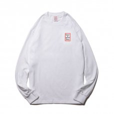 (have a good time) MINI FRAME L/S TEE - WHITE