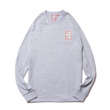 (have a good time) MINI FRAME L/S TEE - HEATHER GRAY
