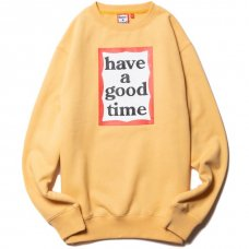 <img class='new_mark_img1' src='https://img.shop-pro.jp/img/new/icons5.gif' style='border:none;display:inline;margin:0px;padding:0px;width:auto;' />(have a good time) FRAME CREWNECK - BIKKLE