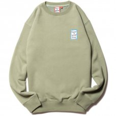 <img class='new_mark_img1' src='https://img.shop-pro.jp/img/new/icons5.gif' style='border:none;display:inline;margin:0px;padding:0px;width:auto;' />(have a good time) MINI BLUE FRAME CREWNECK - SAGE