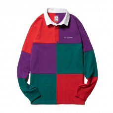 <img class='new_mark_img1' src='https://img.shop-pro.jp/img/new/icons5.gif' style='border:none;display:inline;margin:0px;padding:0px;width:auto;' />(have a good time) RUGBY SHIRT - RED/PURPLE/BLUE GREEN