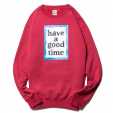 <img class='new_mark_img1' src='https://img.shop-pro.jp/img/new/icons5.gif' style='border:none;display:inline;margin:0px;padding:0px;width:auto;' />(have a good time) BLUE FRAME CREWNECK - CHERRY