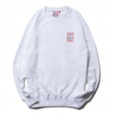 <img class='new_mark_img1' src='https://img.shop-pro.jp/img/new/icons5.gif' style='border:none;display:inline;margin:0px;padding:0px;width:auto;' />(have a good time) MINI FRAME CREWNECK - WHITE