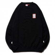 <img class='new_mark_img1' src='https://img.shop-pro.jp/img/new/icons5.gif' style='border:none;display:inline;margin:0px;padding:0px;width:auto;' />(have a good time) MINI FRAME CREWNECK - BLACK