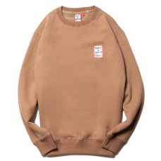 <img class='new_mark_img1' src='https://img.shop-pro.jp/img/new/icons5.gif' style='border:none;display:inline;margin:0px;padding:0px;width:auto;' />(have a good time) MINI FRAME CREWNECK - CINNAMON