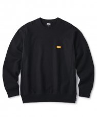 <img class='new_mark_img1' src='https://img.shop-pro.jp/img/new/icons5.gif' style='border:none;display:inline;margin:0px;padding:0px;width:auto;' />(FTC) SMALL BOX LOGO CREW NECK - BLACK