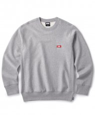 <img class='new_mark_img1' src='https://img.shop-pro.jp/img/new/icons5.gif' style='border:none;display:inline;margin:0px;padding:0px;width:auto;' />(FTC) SMALL BOX LOGO CREW NECK - GRAY