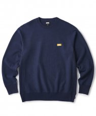 <img class='new_mark_img1' src='https://img.shop-pro.jp/img/new/icons5.gif' style='border:none;display:inline;margin:0px;padding:0px;width:auto;' />(FTC) SMALL BOX LOGO CREW NECK - NAVY