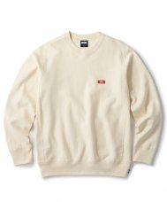 <img class='new_mark_img1' src='https://img.shop-pro.jp/img/new/icons5.gif' style='border:none;display:inline;margin:0px;padding:0px;width:auto;' />(FTC) SMALL BOX LOGO CREW NECK - CREAM