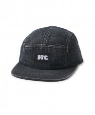 <img class='new_mark_img1' src='https://img.shop-pro.jp/img/new/icons5.gif' style='border:none;display:inline;margin:0px;padding:0px;width:auto;' />(FTC) DENIM CAMP CAP - BLACK
