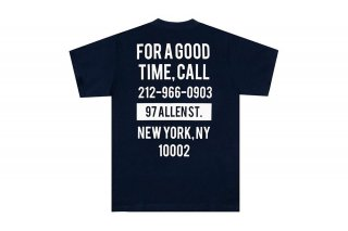 <img class='new_mark_img1' src='https://img.shop-pro.jp/img/new/icons5.gif' style='border:none;display:inline;margin:0px;padding:0px;width:auto;' />(The Good Company) GOOD TIME TEE - NAVY/CREAM