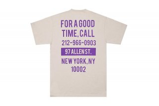 <img class='new_mark_img1' src='https://img.shop-pro.jp/img/new/icons5.gif' style='border:none;display:inline;margin:0px;padding:0px;width:auto;' />(The Good Company) GOOD TIME TEE - SAND/PURPLE